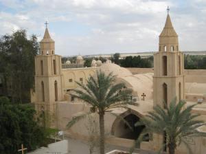 Monastery at Wadi el Natrun